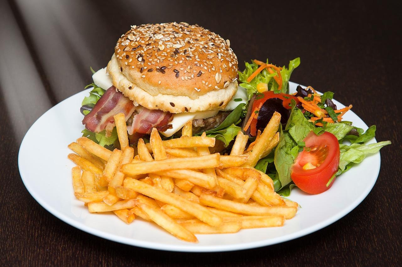 1 Hamburger