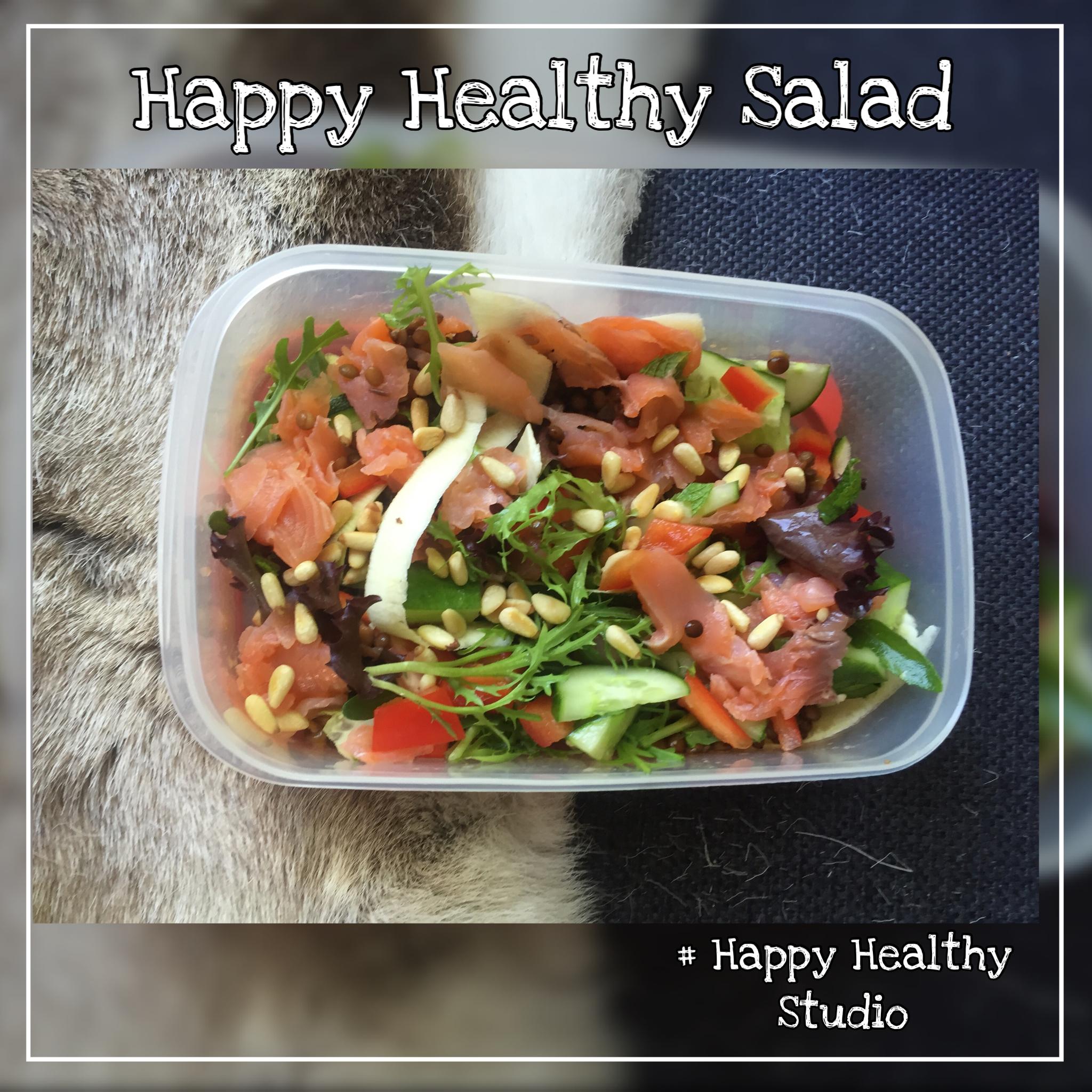 1 Happy healthy zalmsalade